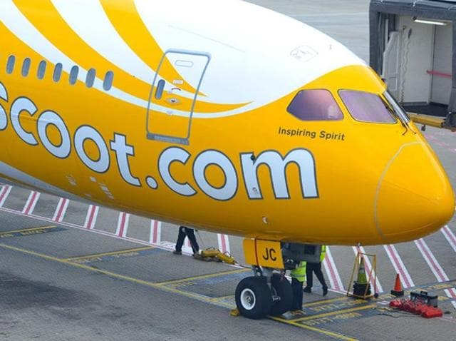 Scoot airline,flyscoot,singapore airlines