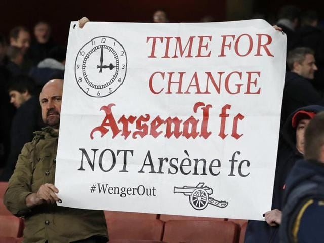 Arsenal manager Arsene Wenger during his team's match against West Brom.