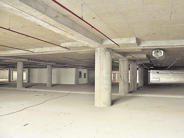 Sector 17,Chandigarh,multi-level parking