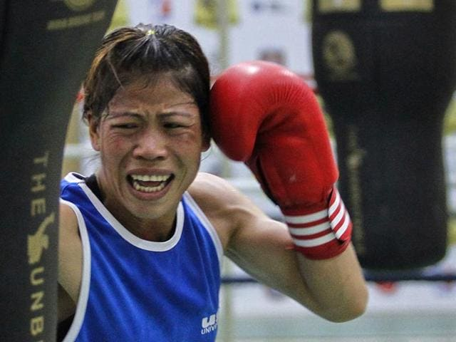 Mary Kom, who won a bronze medal for boxing at the 2012 Summer Olympics, was reportedly picked to ensure representation from India's north-eastern states.