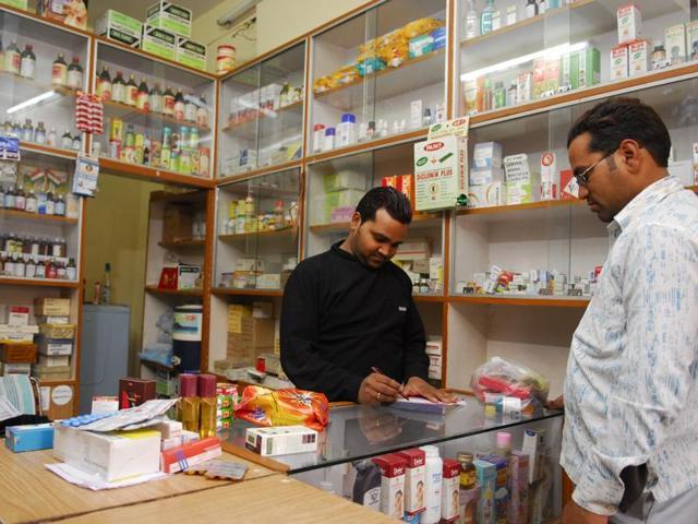 A pharma store in Delhi