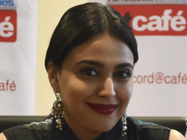"""""""I can't decide if I am anxious or excited. In this film, the story is the king. The movie has taken great shape, with the help of our director, Ashwiny Iyer Tiwari,"""" says Swara Bhaskar."""