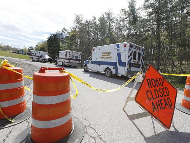 Law enforcement has closed down Union Hill Road in Pike County, Ohio, while they investigate a shooting with multiple fatalities on Friday.