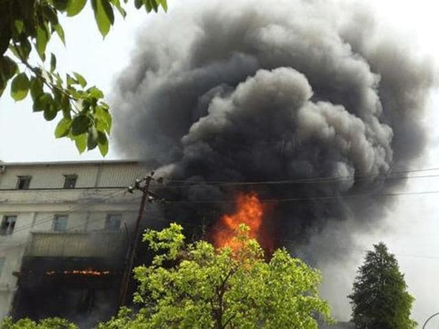The government of Jingjiang city in China's eastern Jiangsu province said on Friday that a fire at a chemical plant had been put under control and there were no casualties.