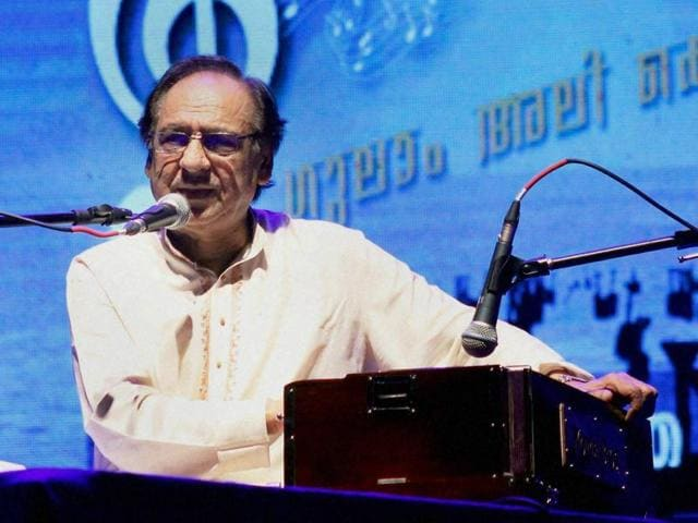 Pakistani singer Ghulam Ali was in Gujarat's Mahuva on Friday to receive an award by a local religious organisation.