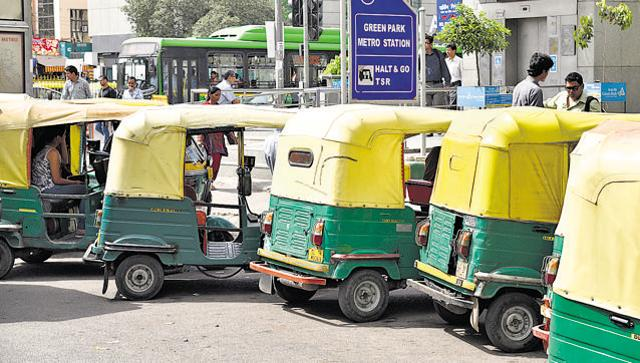 A section of autorickshaw and taxi unions on Monday threatened to launch a sit-in outside the residence of Chief Minister Arvind Kejriwal if the Delhi government failed to bring app-based taxi services under fare-metre system.