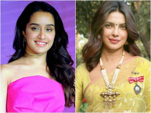 "Shraddha said: ""I've always been a Priyanka Chopra fan. I feel that the work she has done, she has been consistently proving herself.""(Agencies)"
