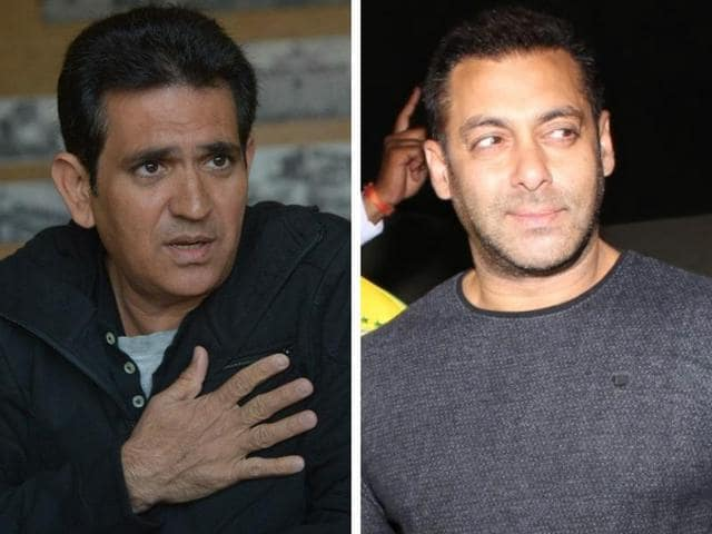 Omung Kumar says that the rumours that he cut out a part about Salman Khan from the movie are complete nonsense.