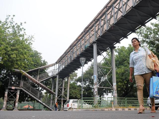 The FOBs were built without any scientific study, a study by Punjab traffic adviser said. With no pedestrians using it, advertisements on it act as a distraction for commuters, the HC was informed.