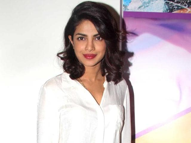 Priyanka is a part of Time's list of the world's 100 most influential people.