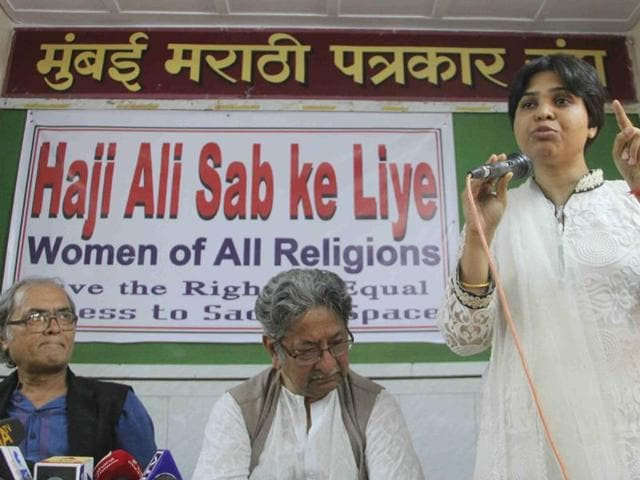 The Shiv Sena leadership, however, distanced itself from Arafat Shaik's comment, saying 'be it a man or a woman, all have equal rights to enter any religious place'.