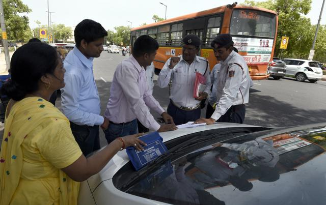 Fewer challans for odd-even violations this time