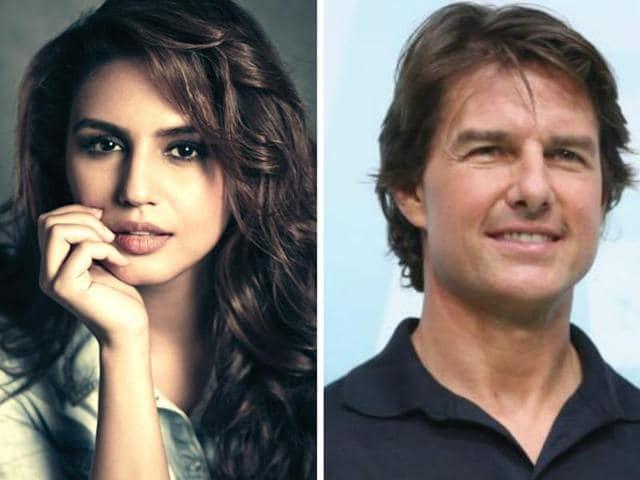 Huma Qureshi,Tom Cruise,The Mummy
