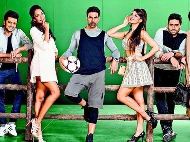 Starring actors like Akshay Kumar, Abhishek Bachchan, Lisa Haydon, Nargis Fakhri, Riteish Deshmukh and Jacqueline Fernandez, this will be the third instalment of the very successful Houseful franchise. (Twitter)