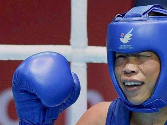 A file photo of Indian boxer MC Mary Kom. (PTI Photo)
