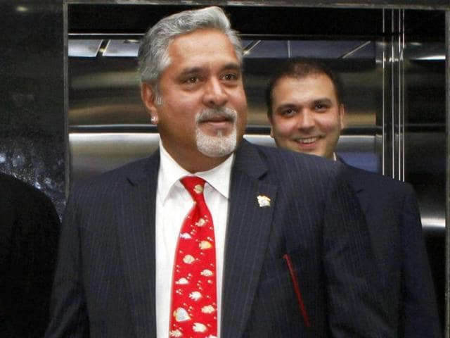The name of former liquor baron Vijay Mallya is on a UKelectoral rollwithhis country home in Britain as his recorded address, a media report said.