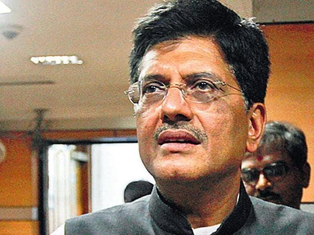 Piyush Goyal,Power minister,India energy crisis