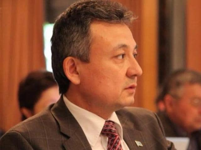File photo of Uyghur activist Dolkun Isa.