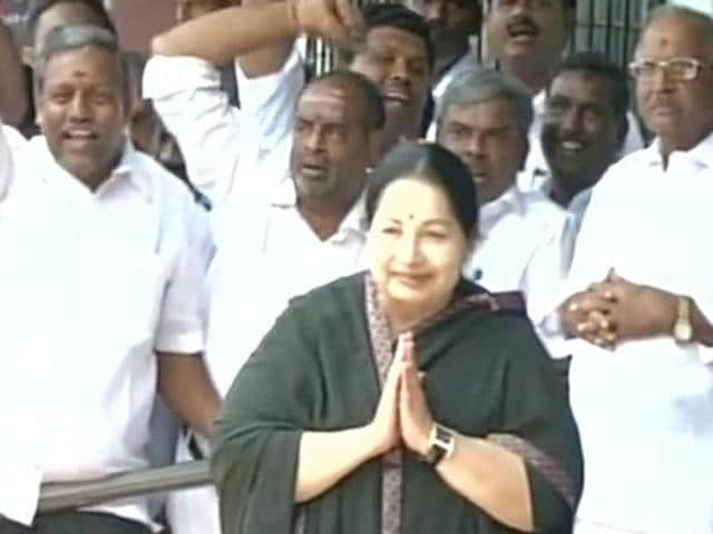 Jayalalithaa files her nomination from RK Nagar constituency for upcoming Tamil Nadu Assembly polls