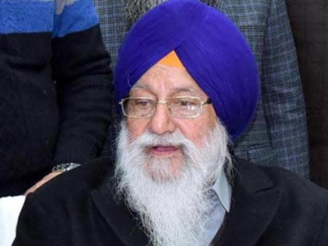 Shiromani Gurdwara Parbandhak Committee (SGPC) president Avtar Singh Makkar