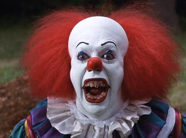 Will Poulter was initially tapped to play Pennywise the clown.
