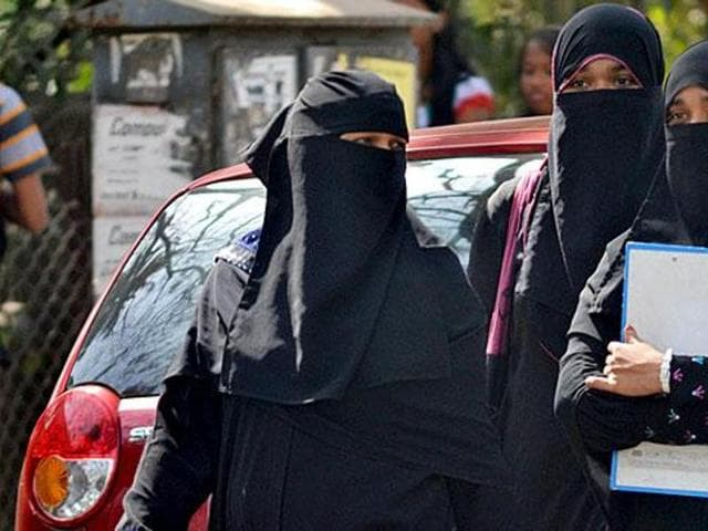 The ban on long sleeves and veils was introduced was cancelled and re-conducted amid reports of cheating with the use of electronic devices and microphones stitched to candidates' clothes last year.