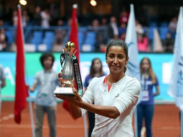 Cagla Buyukakcay became the first Turkish woman to win a WTAtitle, doing so in her home tournament at the Istanbul Cup.