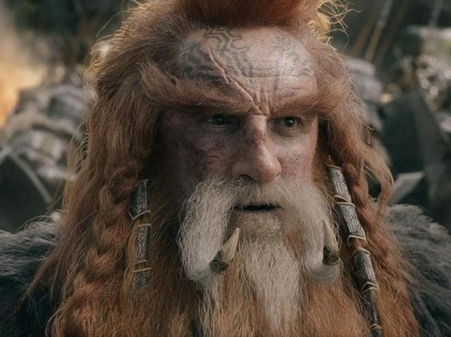 Billy Connolly recently appeared in the Hobbit movies.