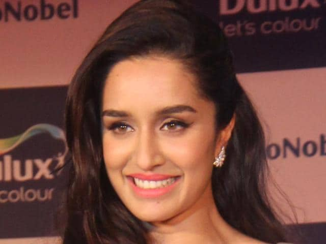 """I always wanted to work with Mohit. I adore his films,"" says Shraddha Kapoor.(Pramod Thakur/ Hindustan Times)"