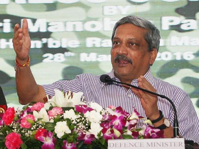 Manohar Parrikar,Defence,CII