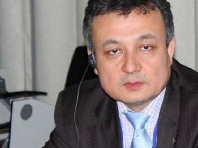 Uyghur activist Dolkun Isa says he is 'disappointed' with India's decision cancelling his visa.