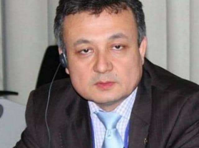 India has reportedly withdrawn the visa granted to Uyghur leader Dolkun Isa.(Photo Courtesy: Dolkun Isa's Twitter handle)