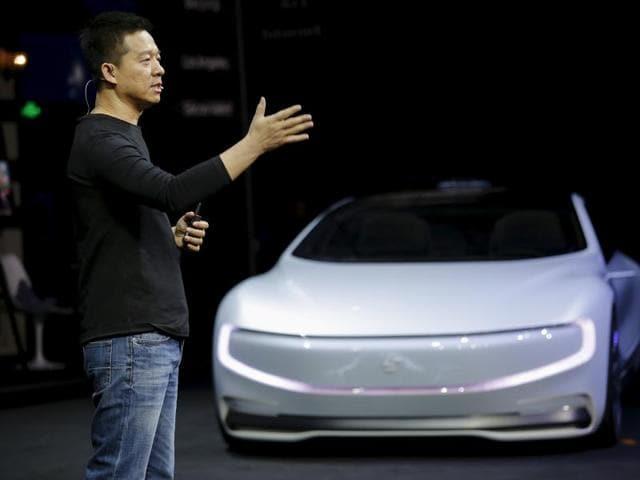 LeEco,Tesla,Elon Musk