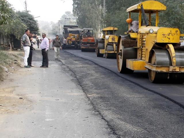IVRCL has been booked for delay in construction of 155 kilometres of the NH-59 and Jhabua bypass approach road
