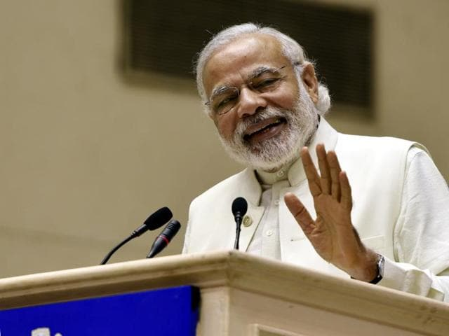 Taking a dig at Narendra Modi for his poll campaign in north eastern states, the Shiv Sena on Monday said the Prime Minister should have taken out time to visit drought-hit Marathwada as well.