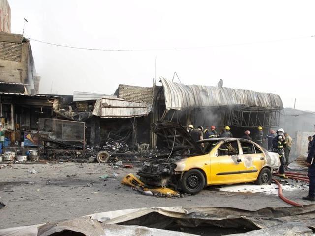 Baghdad,Baghdad bombing,Car bomb