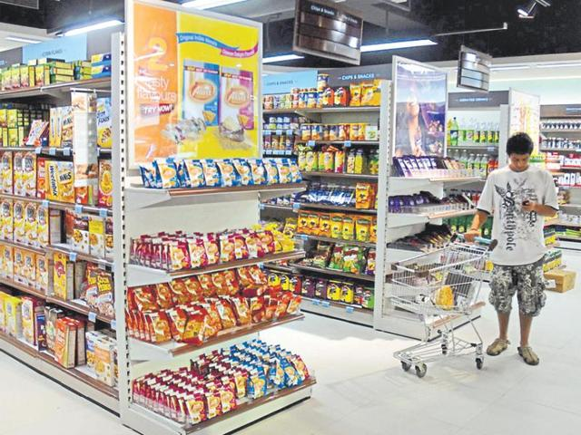 A retail store in Mumbai. The new norms will apply to food products sold by Indian as well as multinational companies.