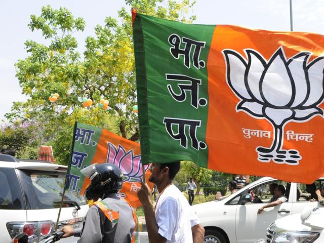 Gandhinagar civic polls,BJP,COngress