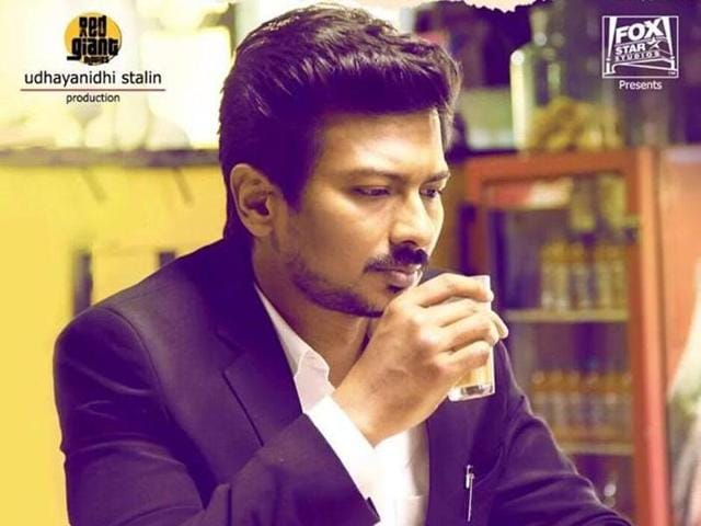Udhayanidhi Stalin plays Arshad Warsi's role from the original in Manithan.