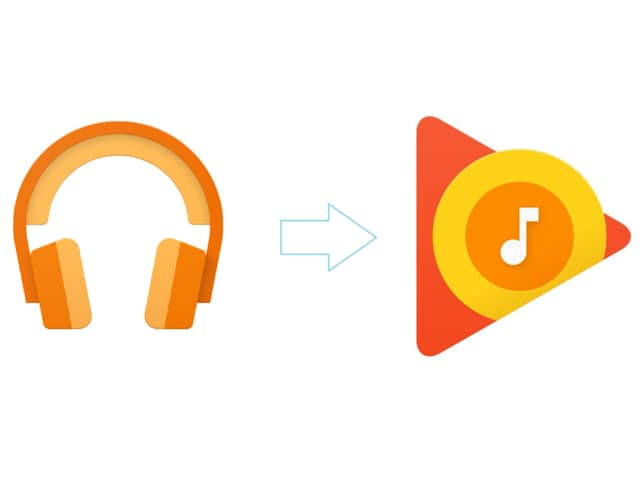 The Google Play Music app has been easy to find because of its defined and intentional resemblance to headphones until the latest update changed it to a play button