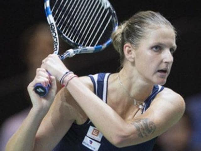 A file photo of tennis player Lucie Safarova.