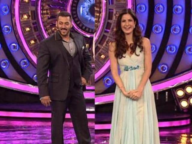Salman Khan and Katrina Kaif reunited on the sets of Bigg Boss.