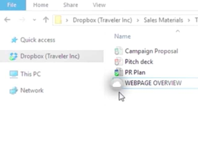 Dropbox makes Google Drive look old with Project Infinite