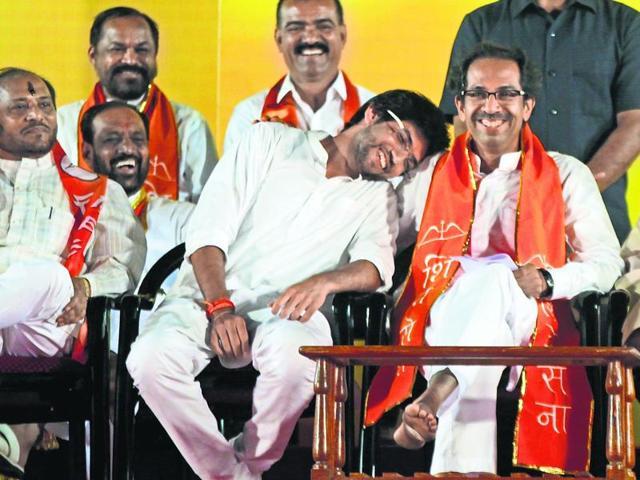 Sena,BJP,Thackeray