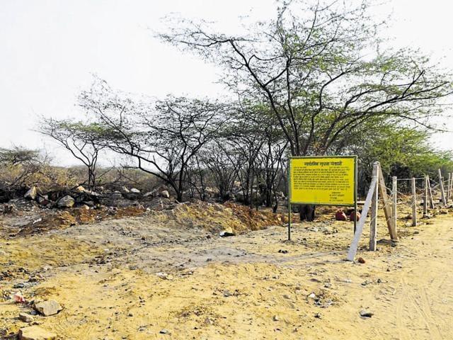 Mangar village,Ministry of Environment and Forests,Faridabad