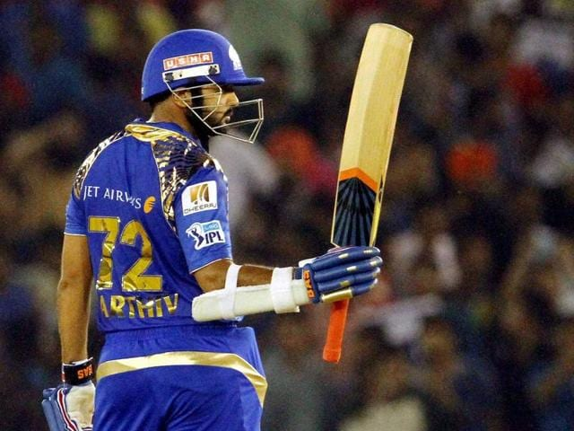 Parthiv Patel, reprieved as many as three times, rode his luck to score a blistering 58-ball 81.