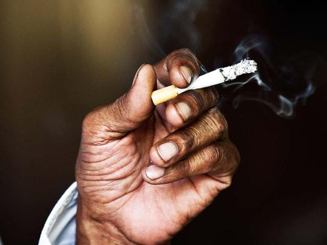 Cigarette stocks are facing the heat  following reports that the government is considering a proposal to completely ban FDI in the tobacco sector.