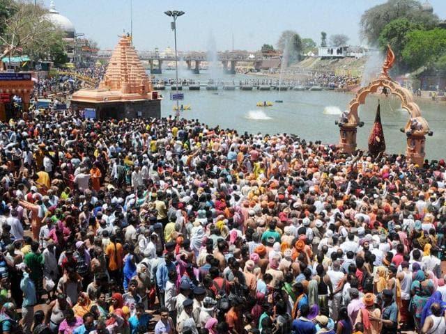 Simhastha Kumbh,water crisis at Simhastha,Ujjain