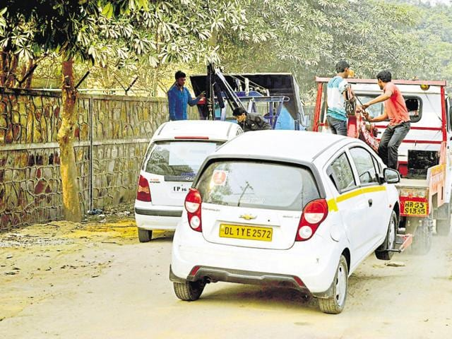Traffic police has identified two spaces at sectors 62 and 71 but are waiting for clearance from the Gautam Budh Nagar administration.