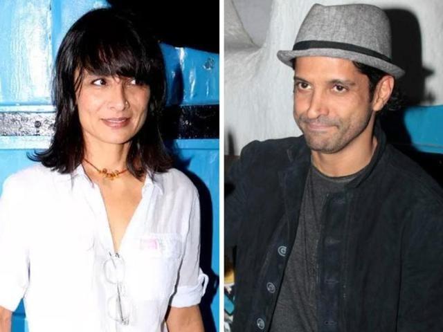 Adhuna Bhabani and Farhan Akhtar separated earlier this year.